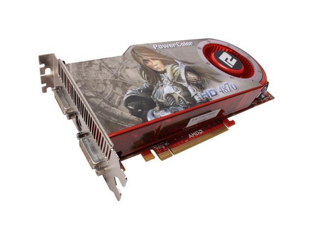 PowerColor Radeon HD 4870 DirectX 10.1 AX4870 1GBD5-H Video Card