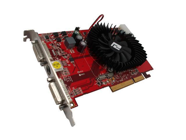 PowerColor Radeon HD 2600XT DirectX 10 HD2600XT 512M AGP 512MB 128-Bit GDDR2 AGP 4X/8X HDCP Ready Video Card