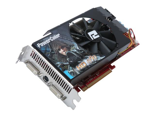 PowerColor Radeon HD 4890 DirectX 10.1 AX4890 1GBD5 1GB 256-Bit GDDR5 PCI Express 2.0 x16 HDCP Ready CrossFireX Support Video Card