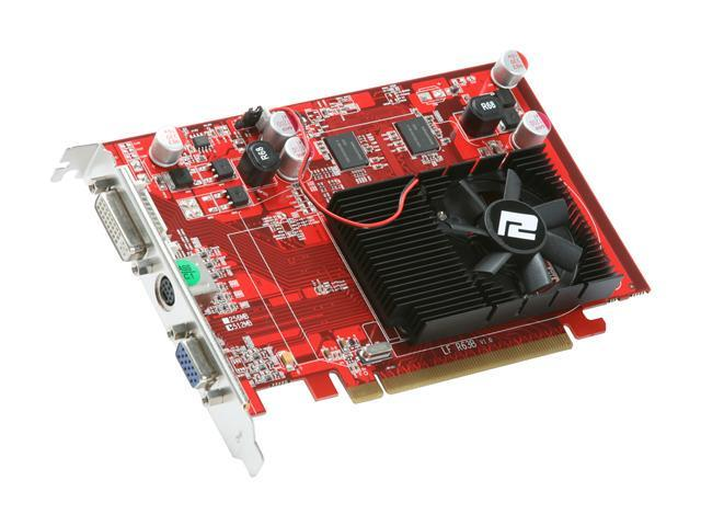 PowerColor Radeon HD 3650 DirectX 10.1 AX3650 512MD2-V2 512MB 128-Bit DDR2 PCI Express 2.0 x16 HDCP Ready Video Card