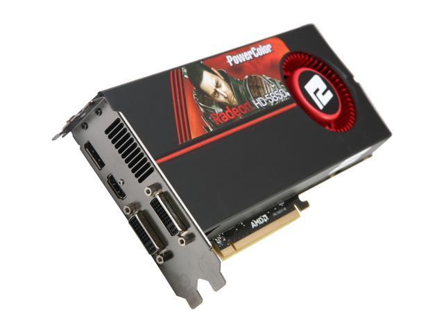 PowerColor Radeon HD 5850 (Cypress Pro) DirectX 11 AX5850 1GBD5-MDH Video Card