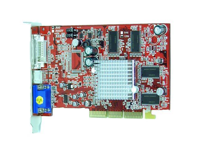 PowerColor Radeon 9200 DirectX 8 R92-C3L 128MB DDR AGP 4X/8X Video Card