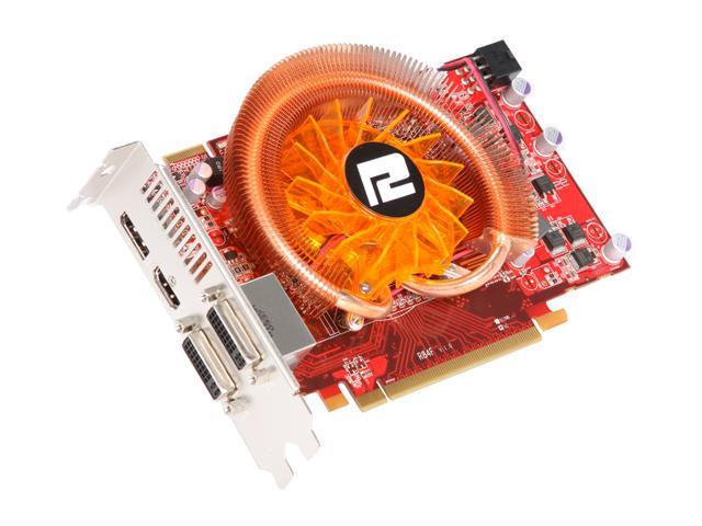 PowerColor Radeon HD 5750 DirectX 11 PCS AX5750 1GBD5-PDHG 1GB 128-Bit GDDR5 PCI Express 2.0 x16 HDCP Ready CrossFireX Support Video Card