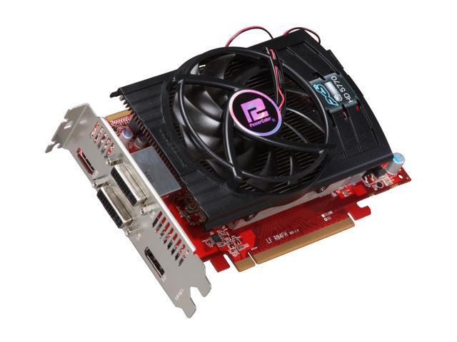 PowerColor Radeon HD 5770 DirectX 11 AX5770 1GBD5-PPG Video Card