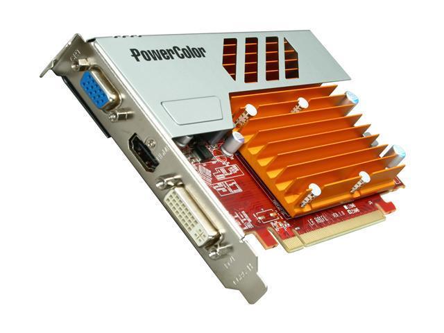PowerColor Go! Green Radeon HD 5450 DirectX 11 AX5450 256MD5-SH 256MB 64-Bit GDDR5 PCI Express 2.1 x16 HDCP Ready Video Card