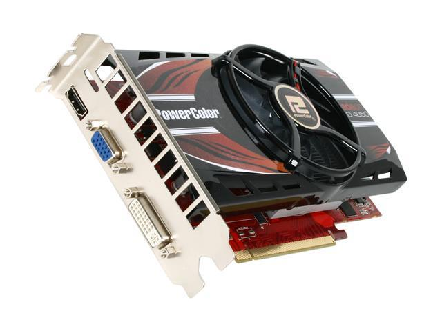 PowerColor Radeon HD 4850 DirectX 10.1 AX4850 512MD3-HV3 Video Card