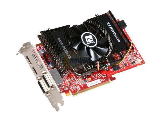 PowerColor Radeon HD 6850 DirectX 11 AX6850 1GBD5-PEDH Video Card with Eyefinity