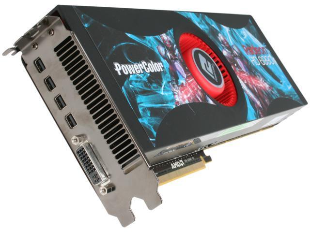 PowerColor HD 6000 Radeon HD 6990 DirectX 11 AX6990 4GBD5-M4D 4GB 256-Bit GDDR5 PCI Express 2.1 x16 HDCP Ready CrossFireX Support Plug-in Card Video Card with Eyefinity