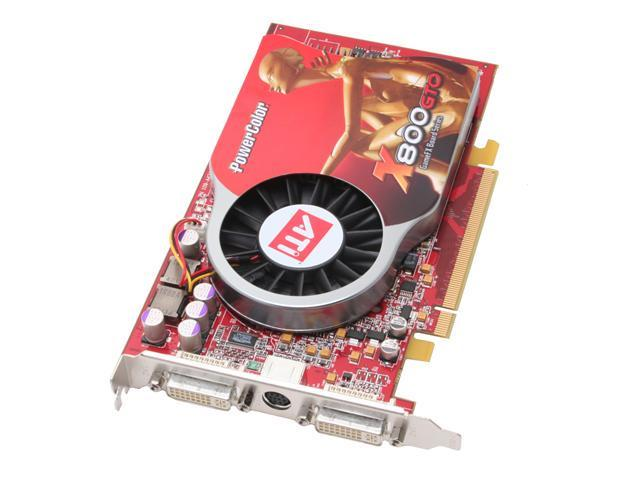 PowerColor Radeon X800GTO DirectX 9 X800GTO 256MBDDR3 256MB 256-Bit GDDR3 PCI Express x16 Video Card