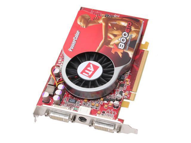 PowerColor Radeon X800GTO DirectX 9 X800GTO 256MBDDR3 256MB 256-Bit GDDR3 PCI Express x16 Video Card