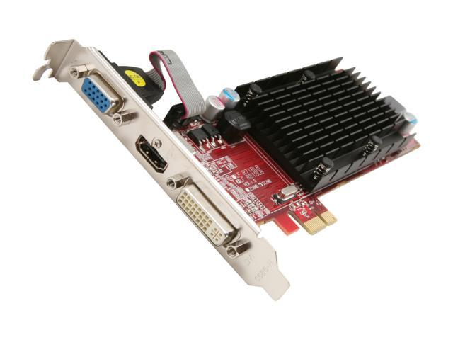 PowerColor Go! Green Radeon HD 5450 DirectX 11 AE5450 512MD2-SH Video Card