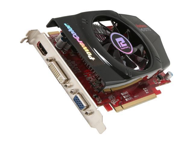 PowerColor HD 6000 Radeon HD 6770 DirectX 11 AX6770 1GBD5-H 1GB 128-Bit GDDR5 PCI Express 2.1 x16 HDCP Ready Plug-in Card Video Card