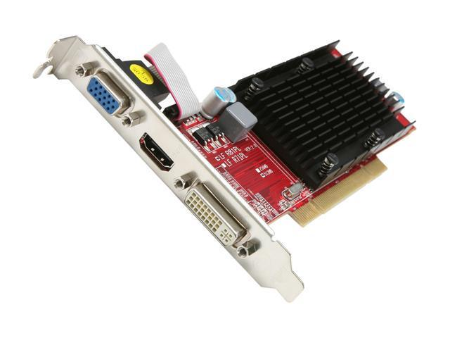 PowerColor Go! Green Radeon HD 5450 DirectX 11 AP5450 512MD2-SH 512MB 64-Bit DDR2 PCI HDCP Ready Low Profile Ready Video Card