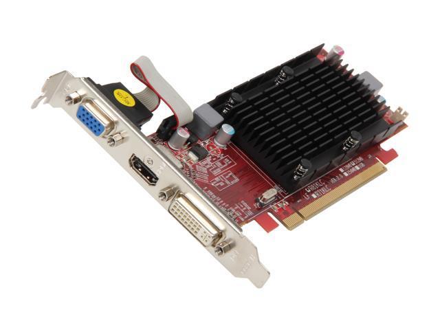 PowerColor Go! Green Radeon HD 5450 DirectX 11 AX5450 512MK3-SHV6 Video Card
