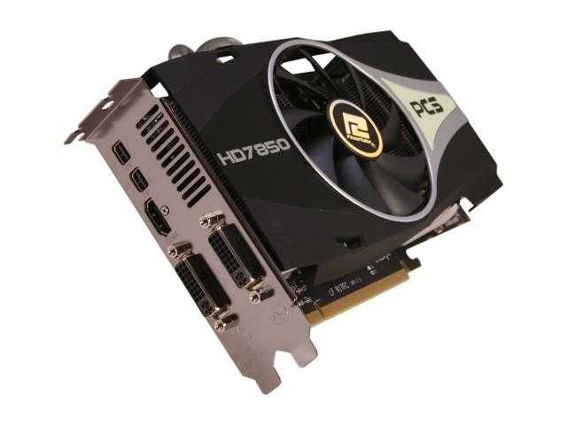 PowerColor PCS+ Radeon HD 7850 DirectX 11 AX7850 2GBD5-2DHPP 2GB 256-Bit GDDR5 PCI Express 3.0 x16 HDCP Ready CrossFireX Support Video Card