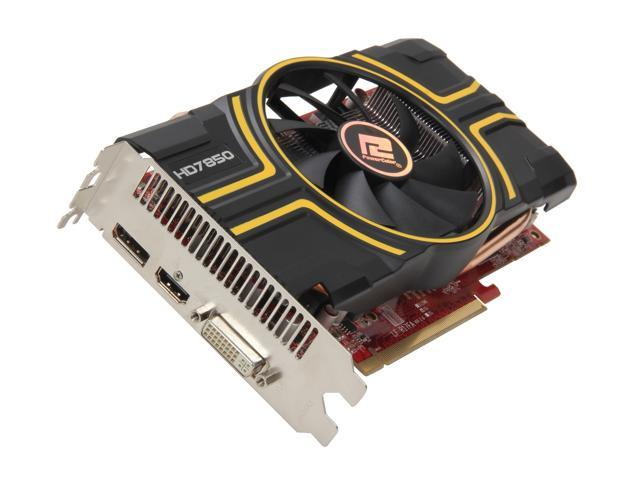 PowerColor Radeon HD 7850 DirectX 11.1 AX7850 1GBD5-DH 1GB 256-Bit GDDR5 PCI Express 3.0 x16 HDCP Ready CrossFireX Support Video Card