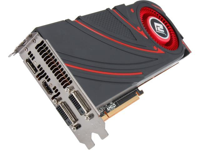 PowerColor Radeon R9 290X DirectX 11.2 AXR9 290X 4GBD5-MDHG/OC 4GB 512-Bit GDDR5 PCI Express 3.0 CrossFireX Support OC Video Card