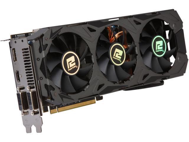 PowerColor PCS+ Radeon R9 290X DirectX 11.2 AXR9 290X 4GBD5-PPDHE Video Card
