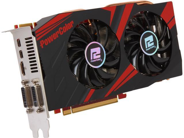PowerColor AX7870 2GBD5-2DHV5E/OC Radeon HD 7870 GHz Edition 2GB 256-Bit GDDR5 V5 PCI Express 3.0 CrossFireX Support Video Card - Retail