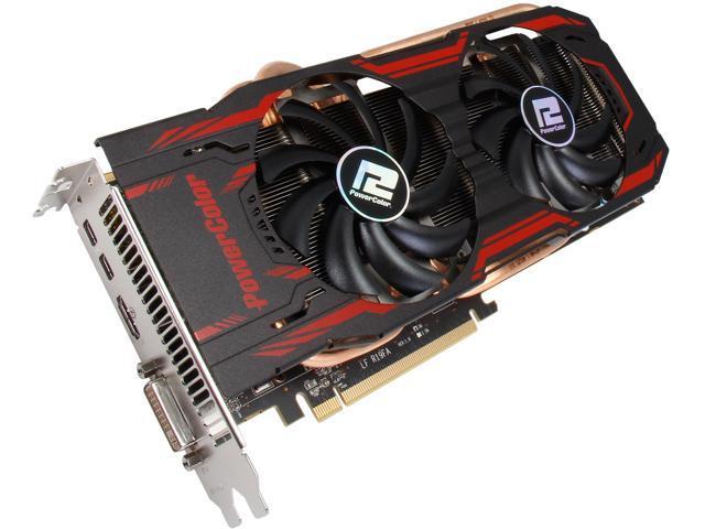 PowerColor TurboDuo Radeon R9 280 DirectX 11.2 AXR9 280 3GBD5-T2DHE/OC Video Card