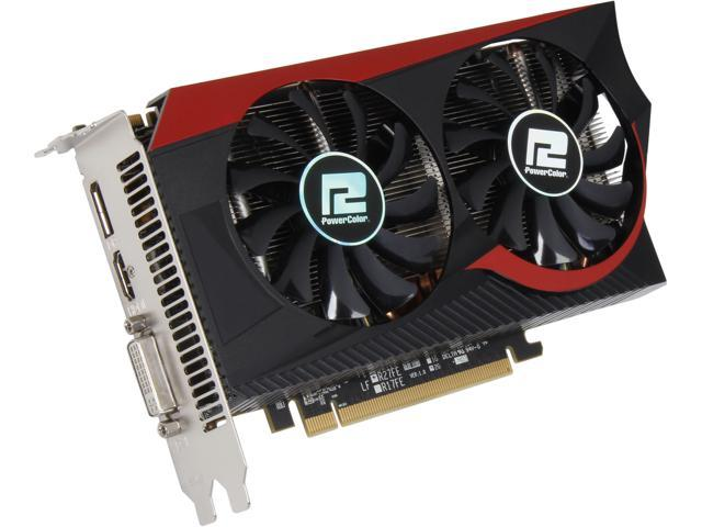 PowerColor TurboDuo Radeon R7 265 DirectX 11.2 AXR7 265 2GBD5-TDHE/OC 2GB 256-Bit GDDR5 PCI Express 3.0 CrossFireX Support Video Card