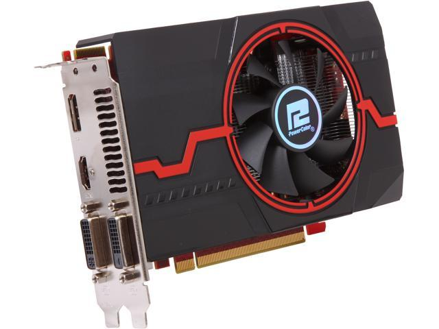 PowerColor Radeon R7 260X DirectX 11.2 AXR7 260X 2GBD5-DHEV2/OC Video Card