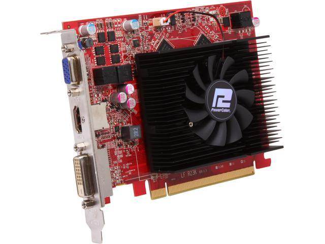 PowerColor Radeon R7 250 DirectX 11.2 AXR7 250 2GBK3-HV2E/OC Video Card
