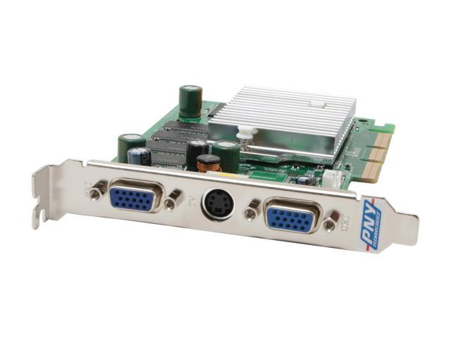 PNY GeForce FX 5200 DirectX 9 VCGFX522APB Video Card