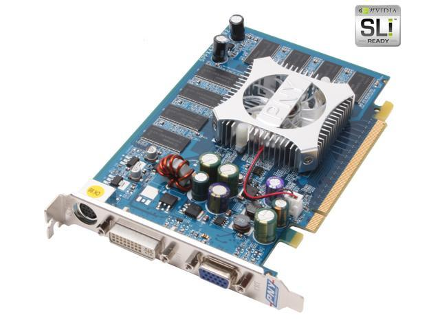 PNY GeForce 6600 DirectX 9 VCG66256XPB 256MB 128-Bit DDR PCI Express x16 SLI Support Video Card