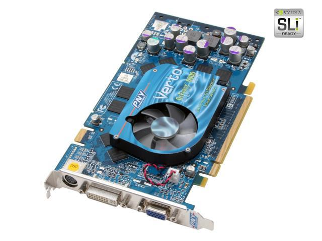 PNY GeForce 6800 DirectX 9 VCG68128XWB Video Card - OEM