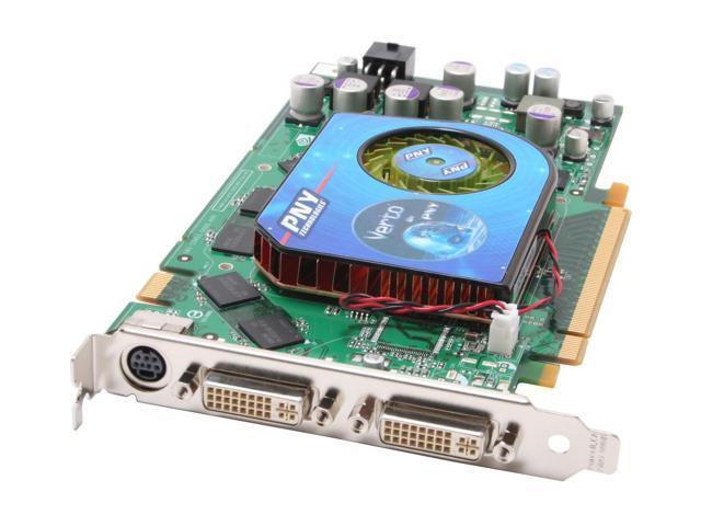 PNY 7 GeForce 7900GT DirectX 9 VCG7900GXPB 256MB 256-Bit GDDR3 PCI Express x16 SLI Support Video Card