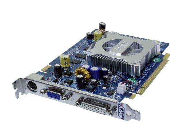 PNY GeForce 7600GS DirectX 9 VCG7600SXPB 256MB 128-Bit GDDR2 PCI Express x16 SLI Support Video Card