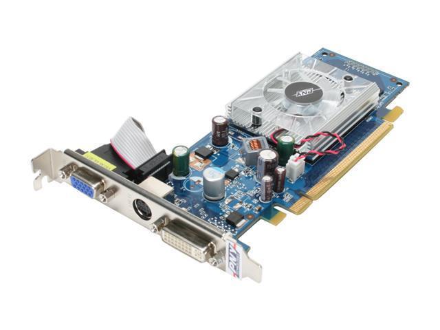 PNY GeForce 8400 GS DirectX 10 VCG8400SXPB Video Card