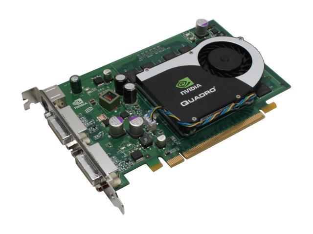 PNY Quadro FX 1700 VCQFX1700-PCIE-PB 512MB 128-bit GDDR2 PCI Express x16 Workstation Video Card