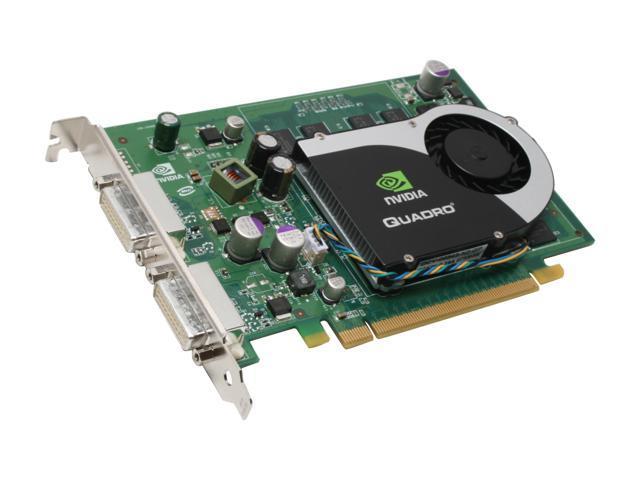 PNY Quadro FX 570 VCQFX570-PCIE-PB 256MB 128-bit GDDR2 PCI Express x16 Workstation Video Card
