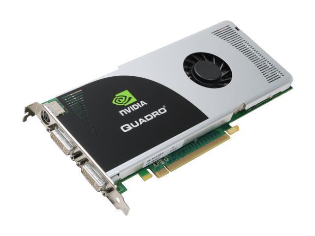 PNY Quadro FX 3700 VCQFX3700-PCIE-PB 512MB 256-bit GDDR3 PCI Express 2.0 x16 Workstation Video Card