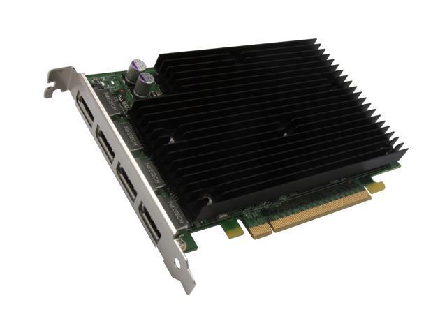 PNY Quadro NVS 450 VCQ450NVS-X16-PB 512MB (256MB per GPU) 128-bit (64-bit per GPU) GDDR3 PCI Express x16 Workstation Video ...