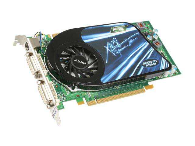 PNY XLR8 GeForce 9800 GT DirectX 10 VCG98GTEE5XEB Video Card