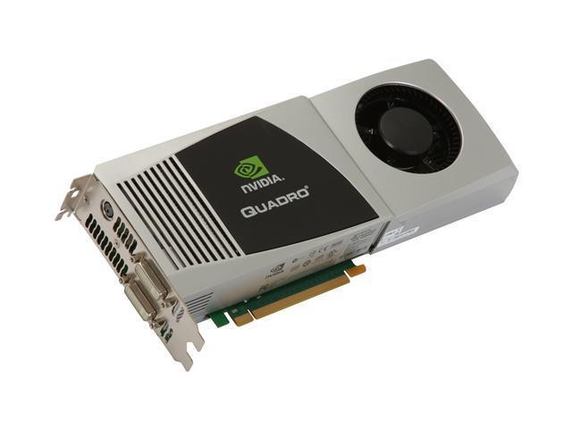 PNY Quadro FX 4800 for Mac VCQFX4800MACX16-PB 1.5GB 384-bit GDDR3 PCI Express 2.0 x16 Workstation Video Card