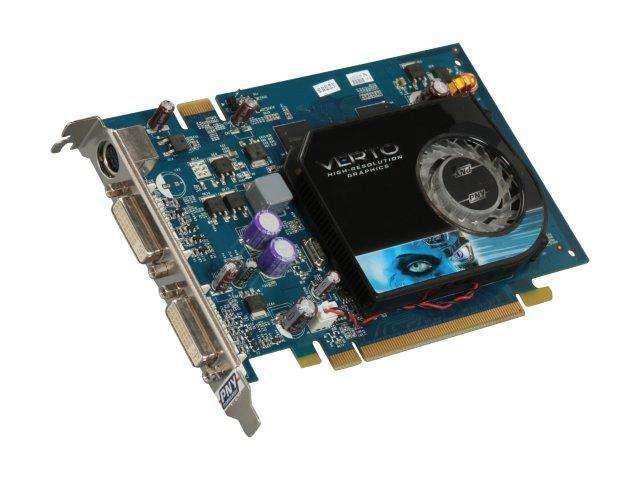 PNY GeForce 8600 GT DirectX 10 VCG8600GXXB 256MB 128-Bit DDR3 PCI Express x16 HDCP Ready SLI Support Video Card