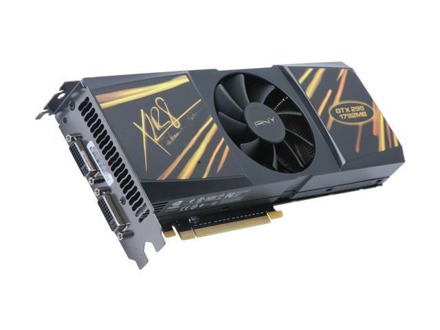 PNY GeForce GTX 295 DirectX 10 VCGGTX295SXPB Video Card