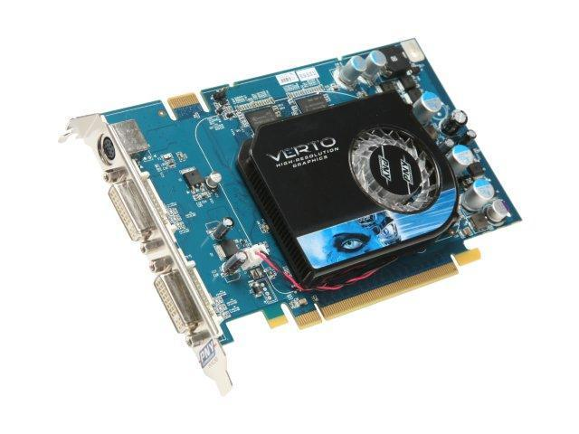 PNY GeForce 8600 GT DirectX 10 VCG86512GXXB Video Card
