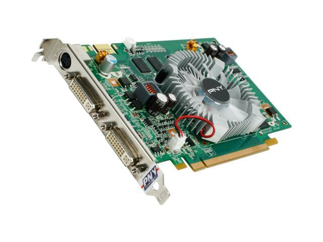PNY GeForce 9400 GT DirectX 10 VCG94512GXXB 512MB 128-Bit GDDR2 PCI Express 2.0 x16 HDCP Ready Video Card