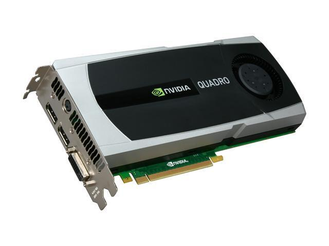PNY Quadro 5000 VCQ5000-PB 2.5GB 320-bit GDDR5 PCI Express 2.0 x16 Workstation Video Card