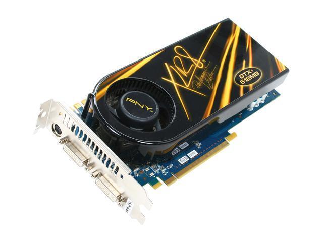 PNY GeForce 9800 GTX+ DirectX 10 RVCG98GTXPXXB Video Card