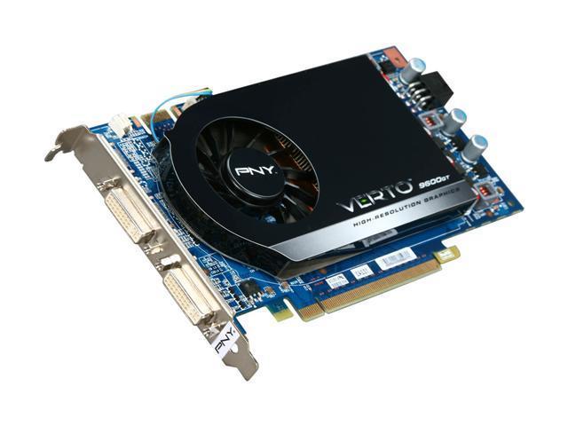 PNY GeForce 9600 GT DirectX 10 RVCG961024GXXB Video Card