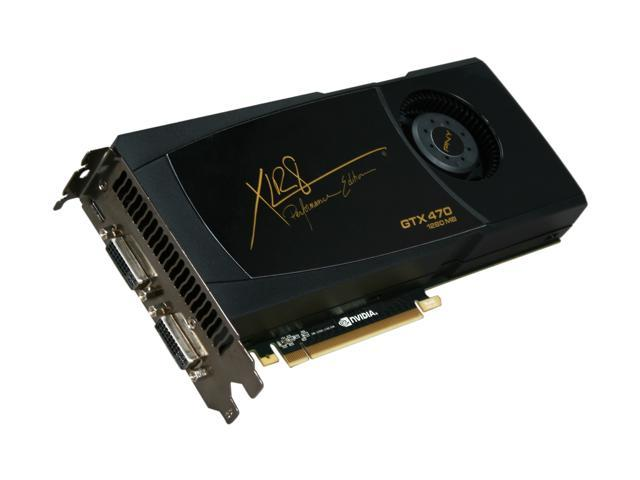 PNY GeForce GTX 470 (Fermi) DirectX 11 RVCGGTX470XXB Video Card