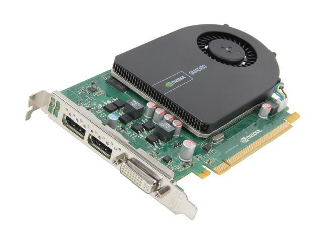 PNY Quadro 2000 VCQ2000-PB 1GB 128-bit GDDR5 PCI Express 2.0 x16 Workstation Video Card