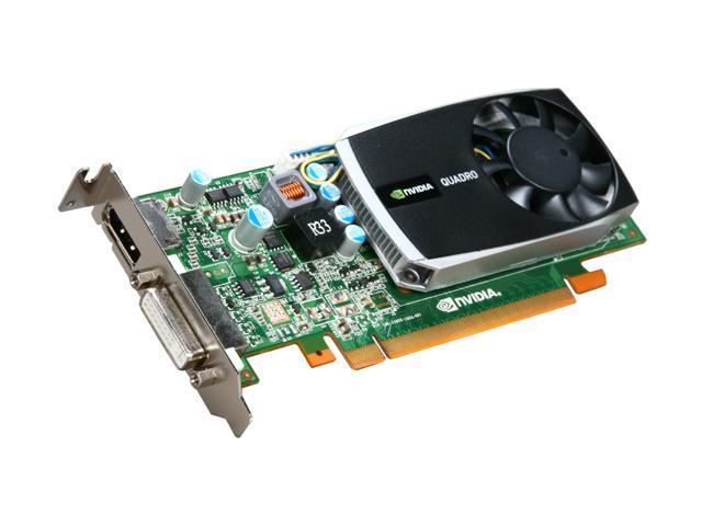 PNY Quadro 600 VCQ600-PB 1GB 128-bit DDR3 PCI Express 2.0 x16 Low Profile Workstation Video Card