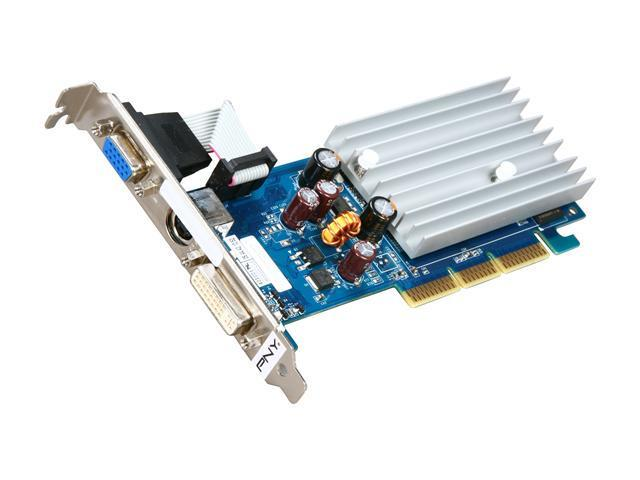 PNY GeForce 6200 DirectX 9 VCG62512SAEB-S Video Card
